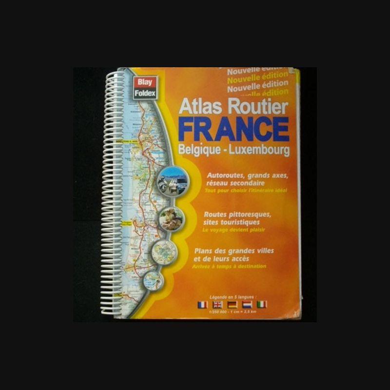 Carte Atlas Routier France | imvt