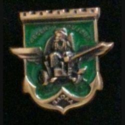 17° RGP CA SADAA : insigne de la compagnie d'appui du 17° régiment du génie parachutiste SADAA 1886 - 1997 en bronze massif boléro allongé