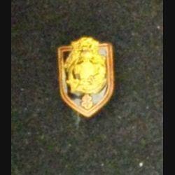 CGFTEO : insigne miniature du commandement du génie des forces terrestres en Extrême-orient embouti d'une hauteur de 1,6 cm
