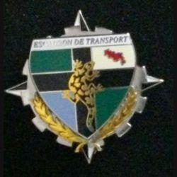 EC IFOR : insigne de l'escadron de transport de la division salamandre IFOR fabrication Boussemart