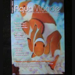 AQUAMONDE N° 43 février mars 2012 : superbe magazine d'Aquamonde n°43 sur l'image et les voyages subaquatiques (C65)