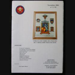 0. CATALOGUE DE L'AMICALE DU 35°RAP Novembre 2001 : bulletin de liaison des collectionneurs de l'amicale des anciens du 35°RAP (C92)