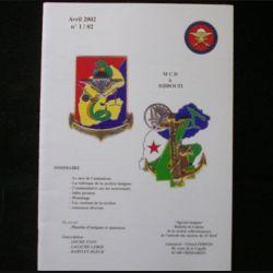 0. CATALOGUE DE L'AMICALE DU 35°RAP Avril 2002 N°1/2 : bulletin de liaison des collectionneurs de l'amicale des anciens du 35°RAP (C92)