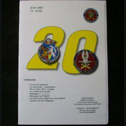 0. CATALOGUE DE L'AMICALE DU 35°RAP juin 2007 N°7/1 : bulletin de liaison des collectionneurs de l'amicale des anciens du 35°RAP (C92)