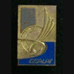 2° GSALAT : insigne du 2° groupe de soutien de l'aviation légère de l'armée de terre de fabrication Drago G. 2560