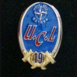 19° RG UCL : insigne de l'unité de commandement et de logistique au BATGEN 6 Novo Selo KFOR du 19° Régiment du Génie de fabrication Shéli non marqué