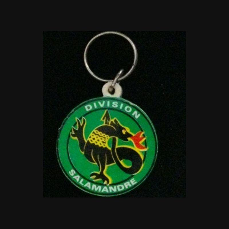 Porte clefs division salamandre porte clefs de la for Collection de porte clefs