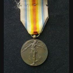 BELGIQUE : médaille interalliée 1914-1918 en bronze