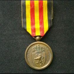 BELGIQUE : médaille commémorative de la guerre 1870-1871 en bronze de diamètre 3,1 cm