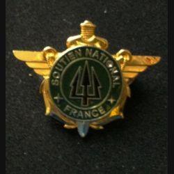 DIVERS : insigne du soutien national France de l'opération trident au Kosovo KFOR de fabrication Sheli G. 4773 n°127