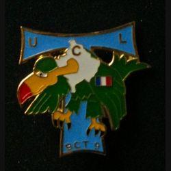 TRANS : insigne de la brigade de commandement des transmissions (BCT), 9° Mandat, de l'unité de commandement et de logistique (UCL) au Kosovo opération trident