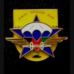 1° RCP : insigne du 1° régiment de chasseurs parachutistes opération PAMIR XIII° mandat des forces ISAF de fabrication Delsart numéroté 0306
