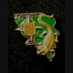 TRANS : insigne de l'unité de transmission divisionnaire (UTD),12° mandat, de la division Salamandre de la SFOR
