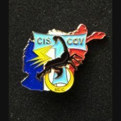 TRANS : insigne de la compagnie des transmissions de l'opération PAMIR, CIS COY RC-C, numérotée 549