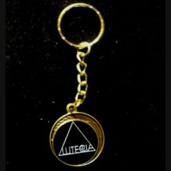 FRANC-MAÇONNERIE : Porte-clef de l'association Lutécia 50