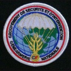 GENDARMERIE GSIGN : insigne tissé du groupement de sécurité et d'intervention de la gendarmerie nationale modèle agréé DGGN