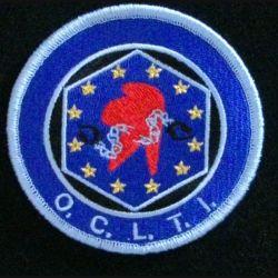 GENDARMERIE OCLTI : insigne tissé de l'office central de lutte contre le travail illégal de la gendarmerie nationale modèle agréé DGGN