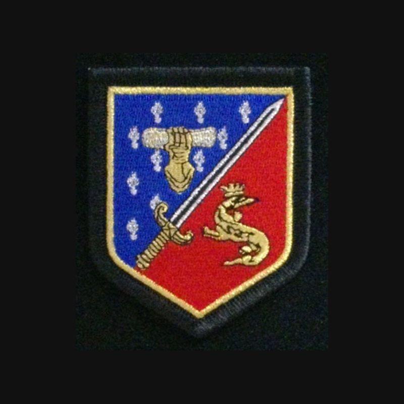 gendarmerie ecole gendarmerie de fontainebleau insigne tiss de l 39 cole de la gendarmerie de. Black Bedroom Furniture Sets. Home Design Ideas