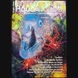 AQUAMONDE N°54 janvier 2014 : superbe magazine d'Aquamonde n° 54 sur l'image et les voyages subaquatiques