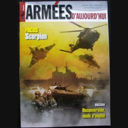 Armées d'aujourd'hui ADA N°390 Juin 2014 Focus sur le scorpion
