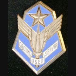 101° GALAT : insigne du 101° groupe de l'aviation légère de l'armée de terre à la devise croire oser servir de fabrication Drago G. 1630 en émail