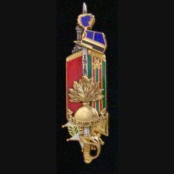 PROMOTION GENDARMERIE : insigne de la 114° promotion ESOG 2007-2009 Capitaine Marchiani de fabrication Boussemart 2008 GN 0339