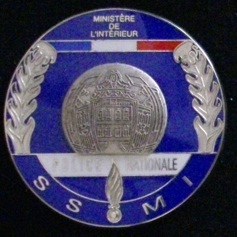 Insigne de la police nationale du service s curit for Interieur ministere