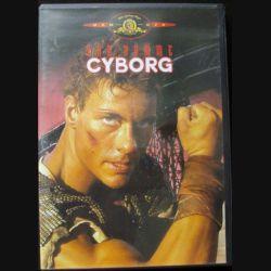 """DVD intitulé """" Cyborg """" film avec Van Damme"""