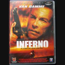"DVD intitulé "" Inferno "" film avec Van Damme"