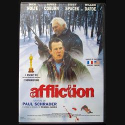 "DVD intitulé "" Affliction "" film de Paul Schrader avec Nolte, Cobrun, Spacek et Dafoe"