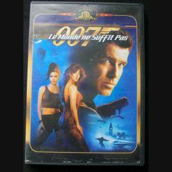 """DVD intitulé """" 007 le monde ne suffit pas """" film de James bond avec Pierce Brosnan"""