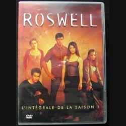 """DVD intitulé """" Roswell l'intégrale de la saison 1 """" total de 6 DVD"""