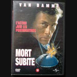 """DVD intitulé """" Mort Subite """" film avec Van Damme"""