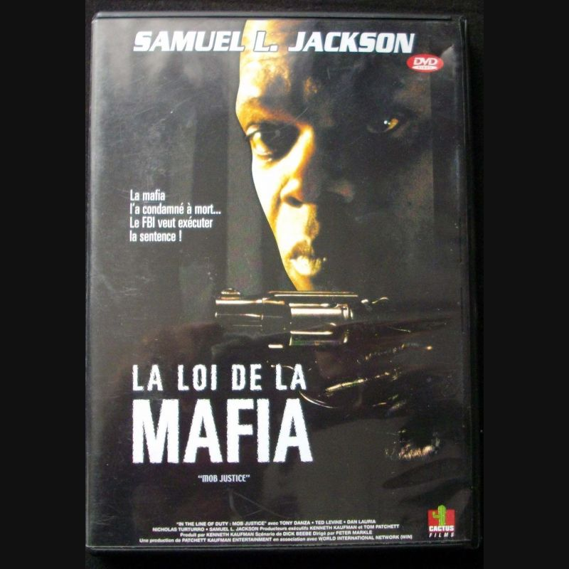 dvd intitul la loi de la mafia film avec samuel l jackson. Black Bedroom Furniture Sets. Home Design Ideas