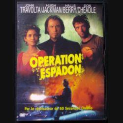 "DVD intitulé "" Opération Espadon "" film avec John Travolta"