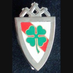 153° RI : insigne métallique du 153° régiment d''infanterie fabriqué par Arthus Bertrand pour les éditions Atlas
