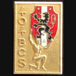 404° bataillon de commandement et des services de fabrication Arthus Bertrand 2305 en émail