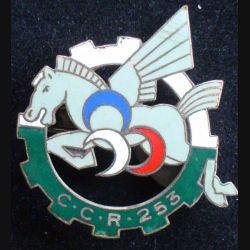 253° CCR Drago Paris Béranger H. 644 en émail légèrement craquelé à 1 boléro lisse