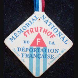 JOURNEE mémorial national de la déportation française Struthof 15 décembre 1953