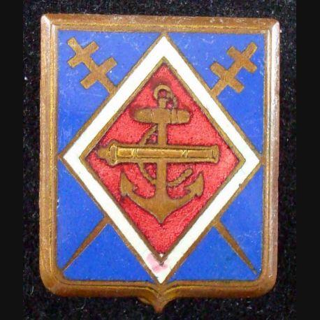 1° régiment d'artillerie coloniale de fabrication Drago Béranger en émail