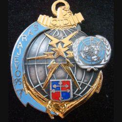 9° compagnie de transmissions divisionnaire à Sarajevo en 1995 J.Y Ségalen