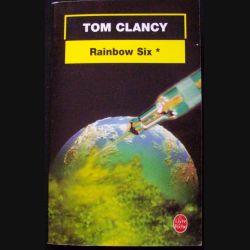 """LIVRE : roman policier """"Rainbow Six"""" tome 1 de Tom Clancy aux Editions Le livre de Poche"""