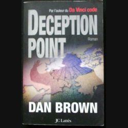 """LIVRE : roman """"Deception Point"""" de Dan Brown aux Editions JC Lattès"""