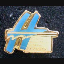 Pin's santé : pin's de l'Hôpital de Béziers de largeur 2 cm