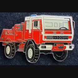 Pin's militaire : pin's représentant un camion de pompier