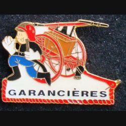 Pin's pompier : pin's des pompiers de garancières