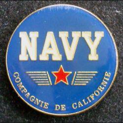 Pin's militaire : pin's de la compagnie de Californie US Navy