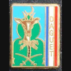 Pin's militaire : pin's de la division Daguet fabriqué par Metargent Paris