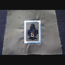 FOURREAU COMBAT : insigne tissu de fourreau de combat non cousu de la compagnie d'instruction