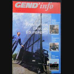 Gend Info n° 297 de mai 2007 sur l'innovation dans les équipements